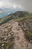 Ridge trail Royalty Free Stock Photography