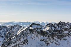 Ridge in winter Royalty Free Stock Image
