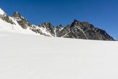 Ridge in winter Stock Photography