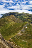 Ridgeback. View from Pic du Midi, Central Pyrenees, France Royalty Free Stock Images