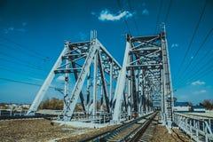 Вridged. Wonderful bridge on the outskirts of the city Stock Photography