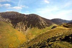 Ridgeline żagiel i Crag wzgórze obrazy stock