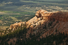 Ridgeline. This is a cliff from Bryce Canyon National Park in Utah royalty free stock image