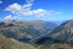 Ridges of the Caucasus. Stock Photography