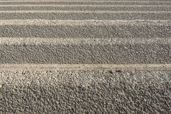 Ridges from close. Closeup of some ridges in the clay ground just after seeding potatoes in springtime Stock Photos