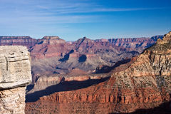 Ridges of the Grand Canyon Royalty Free Stock Image