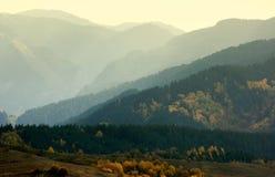 Ridges of Rodopi mountains Stock Photography