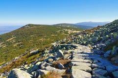 Ridgeway в гигантских горах Стоковые Изображения