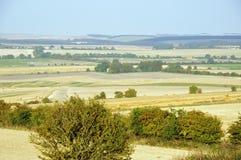 Ridgeway от холма Charlbury Стоковое Изображение RF
