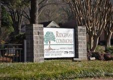 Ridgeway Commons Apartment Homes image stock
