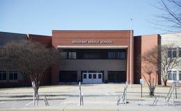 Ridgeway Middle School, Memphis, TN royalty-vrije stock fotografie