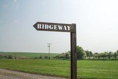 Ridgeway National Trail UK Arkivfoton