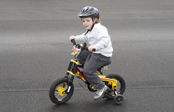 riding велосипеда Стоковые Изображения