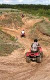 riding квада Стоковое Фото