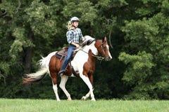 riding потехи Стоковые Фотографии RF