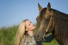 Riding Royalty Free Stock Photography