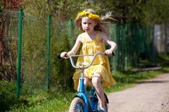 лето riding Стоковое Изображение