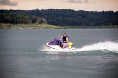 Free Riding A Jet Ski. Stock Image - 42074071