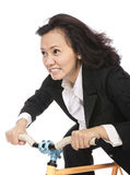 Riding Bicycle Royalty Free Stock Images