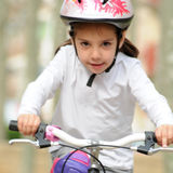 Riding a bike Royalty Free Stock Photos
