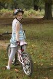 riding bike Стоковая Фотография