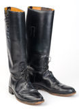 Equestrian or Police, Riding Boots. Royalty Free Stock Photo