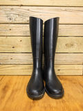 Riding boots  in a stable Royalty Free Stock Images