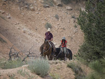 Riding in Bryce Canyon National Park, Utah, USA Stock Photography