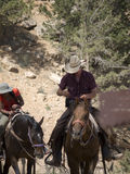Riding in Bryce Canyon National Park, Utah, USA Royalty Free Stock Photography