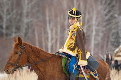 Riding cavalry Royalty Free Stock Image