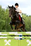 Riding competition Stock Photo