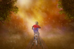 Riding into Dreams Stock Photos