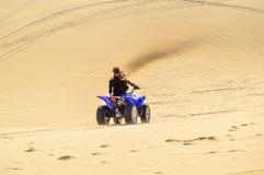 Riding the Dunes At Min Ne Stock Photo