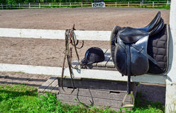 Horse riding equipments Stock Image