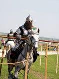 Riding knight Royalty Free Stock Photo