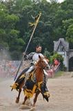 Riding Knight Stock Image