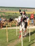 Riding knight Royalty Free Stock Photography
