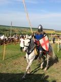 Riding knight Stock Photos
