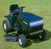 Riding lawnmower Stock Images