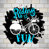 Riding like iifestyle Royalty Free Stock Images