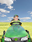 Riding Mower Royalty Free Stock Image