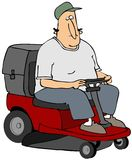 Riding Mower Royalty Free Stock Images