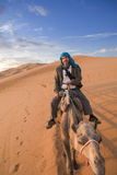 Riding my camel Royalty Free Stock Photos