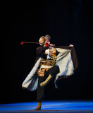 "Riding posture-Peking Opera ""Taking Tiger Montain By Strategy"" Stock Photos"