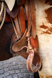 Riding saddle Royalty Free Stock Photography