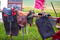 Riding saddle Royalty Free Stock Image
