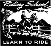 Riding School Royalty Free Stock Photography