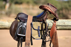 Riding tack Royalty Free Stock Photo