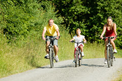 Free Riding The Bicycles Together Royalty Free Stock Photos - 6417738