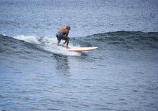 Riding the Waves stock photos